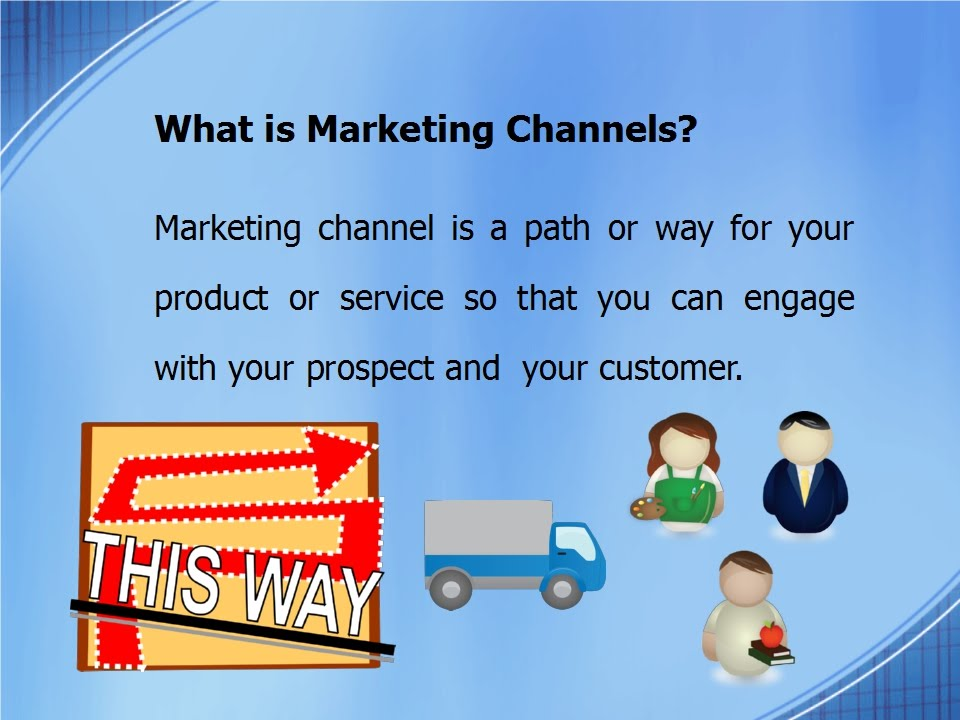 Three types marketing channel you must know - YouTube