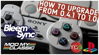 How To Upgrade Bleemsync 0.4.1 to 1.0 -  PS Classic Hack Tutorial