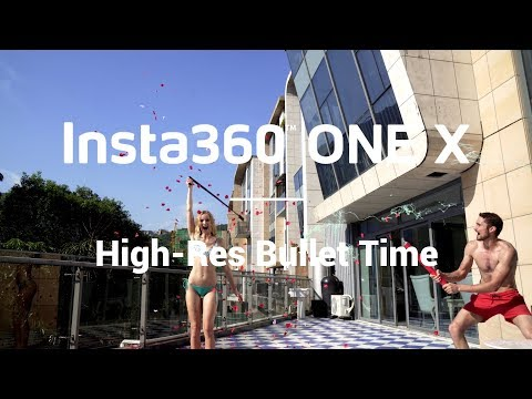 Insta360 ONE X - High-Res Bullet Time