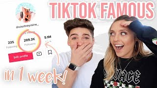 Trying to Become TikTok Famous in a Week