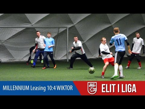 MILLENNIUM Leasing 10:4 WIKTOR - ELIT I Liga ZIMA 2017