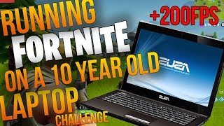 RUNNING FORTNITE ON A 10 YEAR OLD LAPTOP!?! INCREASE FPS ON AMD AND INTEL PCS  AND LAPTOPS thumbnail
