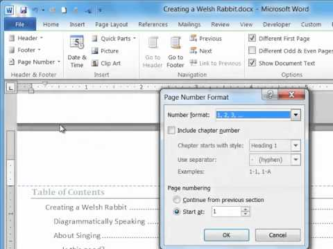 What is the way to get a page count in WordPad?