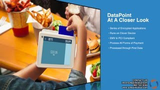 With datapoint by softpoint you can now have a true pay at the table solution for your external pos terminal as well cashier. whether you'r...