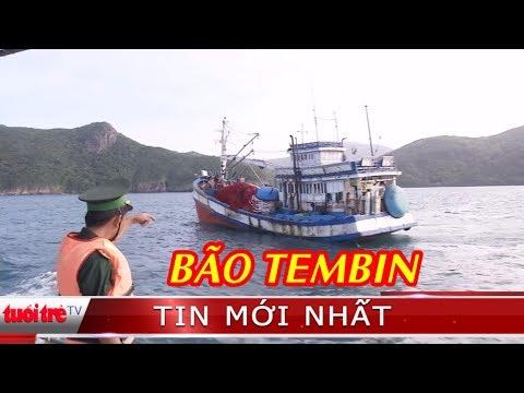 ⚡ Tin mới nhất   Gần 1.700 ngư dân vào Côn Đảo tránh bão Tembin