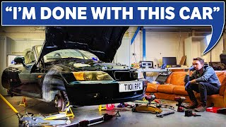 Project Car Novice Tackles Brakes & Suspension!