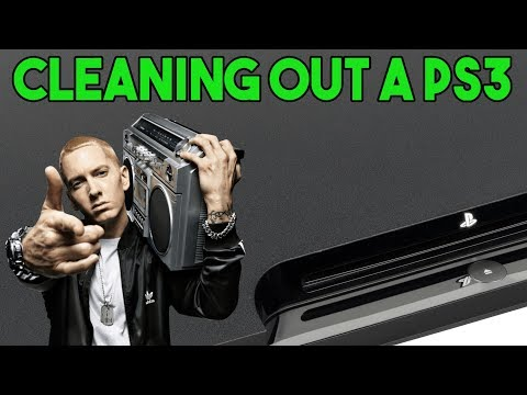 Cleaning Out A PS3