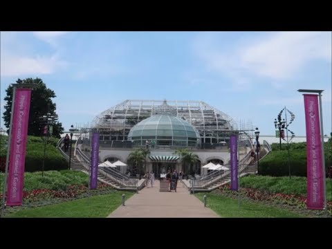 A mini Pittsburgh road trip - Part 1 - Phipps Conservatory & Botanical Gardens!! (6-18-18)