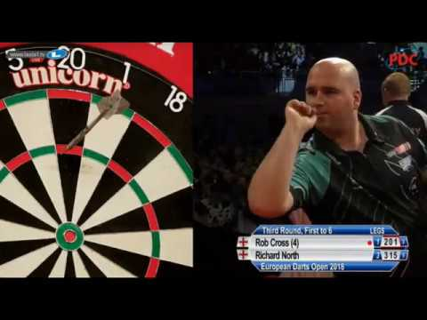 2018 European Darts Open Round 3 Cross vs North