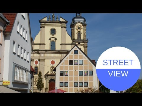 STREET VIEW In Neckarsulm In GERMANY