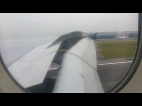 Malaysia Airline A380 Landing from Paris to Klia