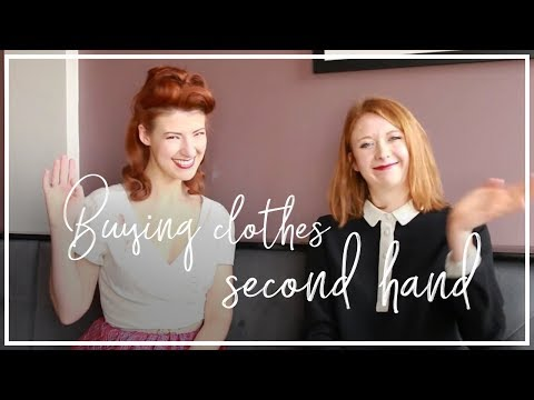 Talking vintage treasures and second hand shopping with Jessica! I Hubbub Vlog