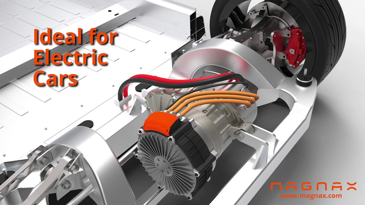 Magnax Motors claims very high power-to-weight ratio