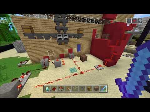 Minecraft fire alarm test.