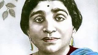 Amma Sarojani devi by Ghantasala on her death.