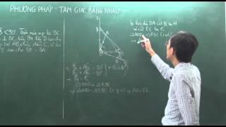 Toán lớp 7-Bài tập trường hợp bằng nhau của tam giác (tiết 1)-Thầy Trần Nhật Minh