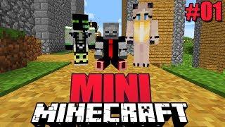 ISY ROMAN UND LARS! ERLEBEN EIN NEUES ABENTEUER! - Minecraft Mini #01 [Deutsch/HD]