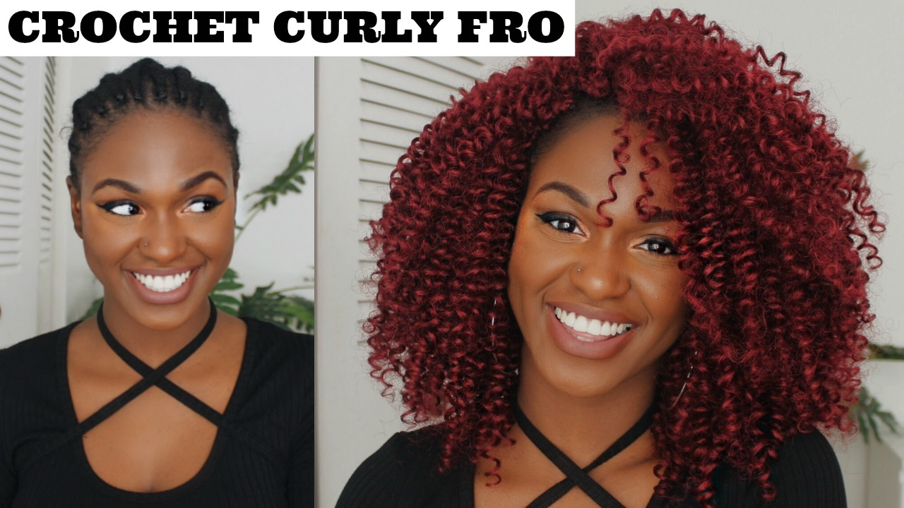 How To Natural Red Knotless Crochet Braids Outre