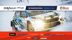 SM Vaakuna-Ralli 2020, Lauantai/Saturday LIVE