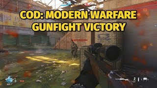 Call of Duty: Modern Warfare Gunfight Alpha Gameplay | Victory on King