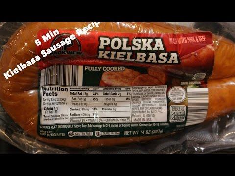 Minute Kielbasa Sausage Recipe