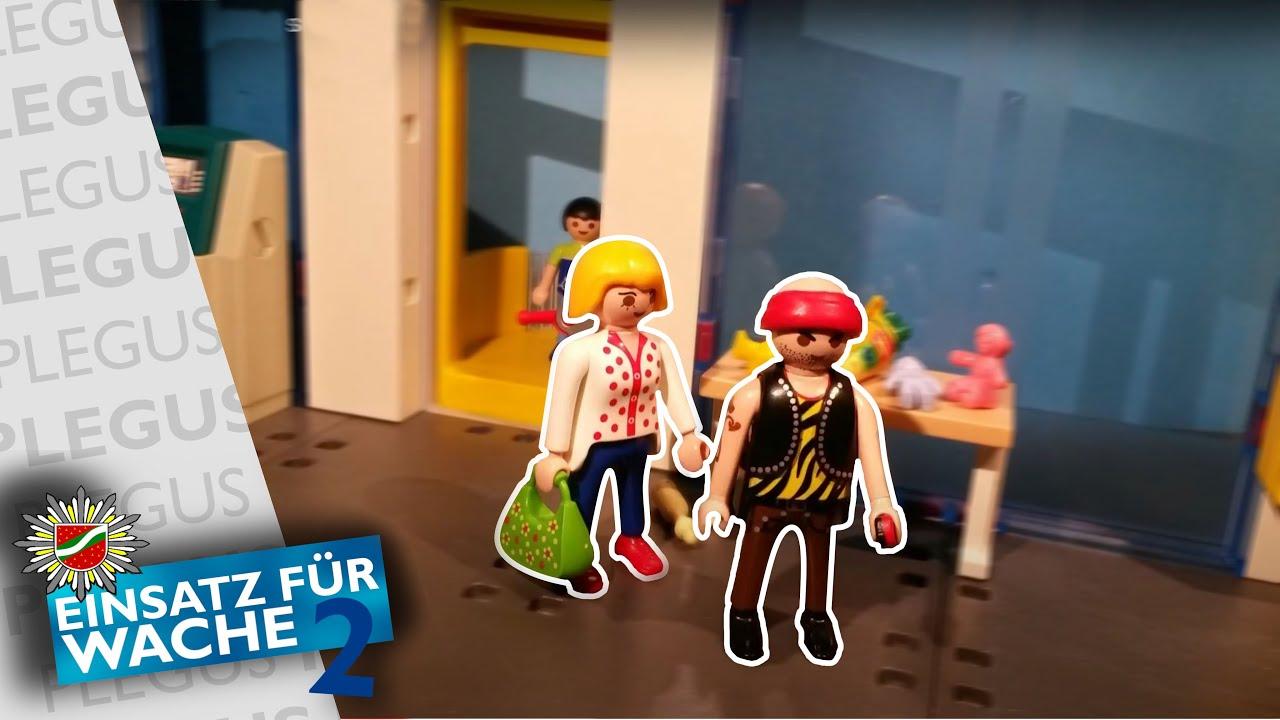 playmobil dieb im shopping center  youtube