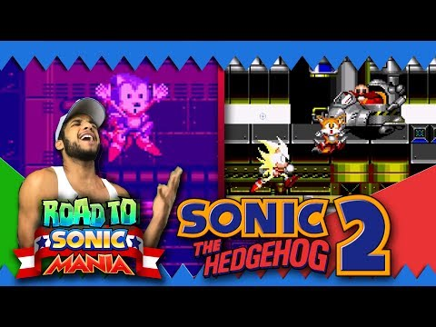 Road to Sonic Mania: Sonic 2 Part 2 - Chemical Plant Zone