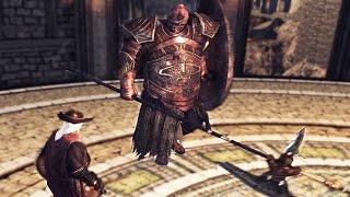 Dark Souls 2: Dragonrider Boss Fight (4k 60fps)