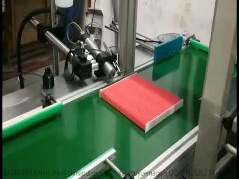 PLCB-500 with cutting --Full-automatic Cabin air filter production line