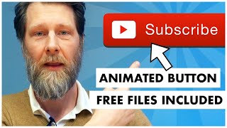 How to make an animated subscribe button for YouTube videos