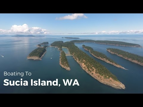 Boating to Sucia Island, WA (San Juan Islands)