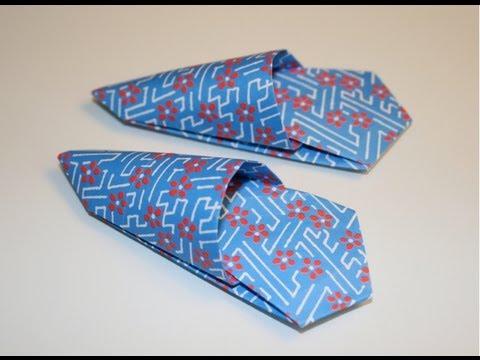 Origami Slipper Pattern