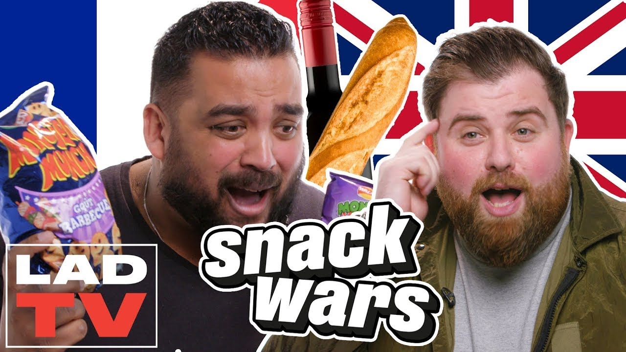 UK vs. France | Snack Wars: Fight For Your Country | LADbible TV