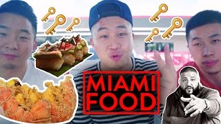 MIAMI FOOD! (DJ Khaled + Asian Fusion) - Finga Licking Fung Bros Food