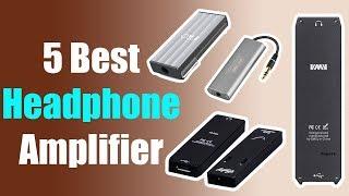 5 Best Headphone Amplifier