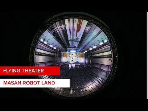 Flying theater: 20m vertical dome for Masan Robot Land