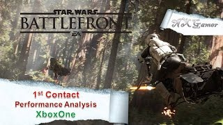 Star Wars Battlefront: 1st Contact Performance Analysis XboxOne