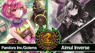 Pandora Inv./Golems vs Aimul Inverse Exhibition Game : Force of Will (TCG)