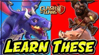 PERFECT STORM DRAGONS AT TH9 | HOGS AT TH10 | BEST ATTACKS | Clash of Clans