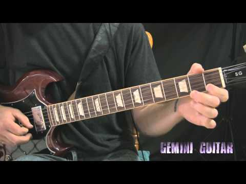 Blues Rock Guitar Lesson - Groove Riffing
