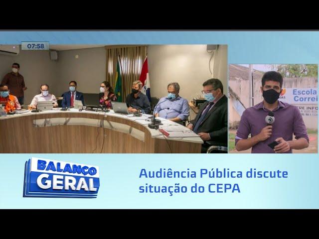 Instailidade no solo: Audiência Pública discute situação do CEPA