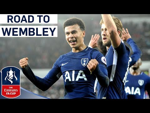 Back to Back Semi Finals for Spurs!   Tottenham's Road to Wembley