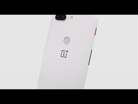 OnePlus 5T Sandstone White Limited Edition. Classic Revisited.