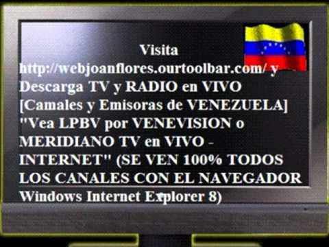 TV y RADIO de VENEZUELA en VIVO por INTERNET