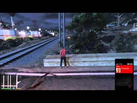 Grand Theft Auto V Trevor train execution fail?