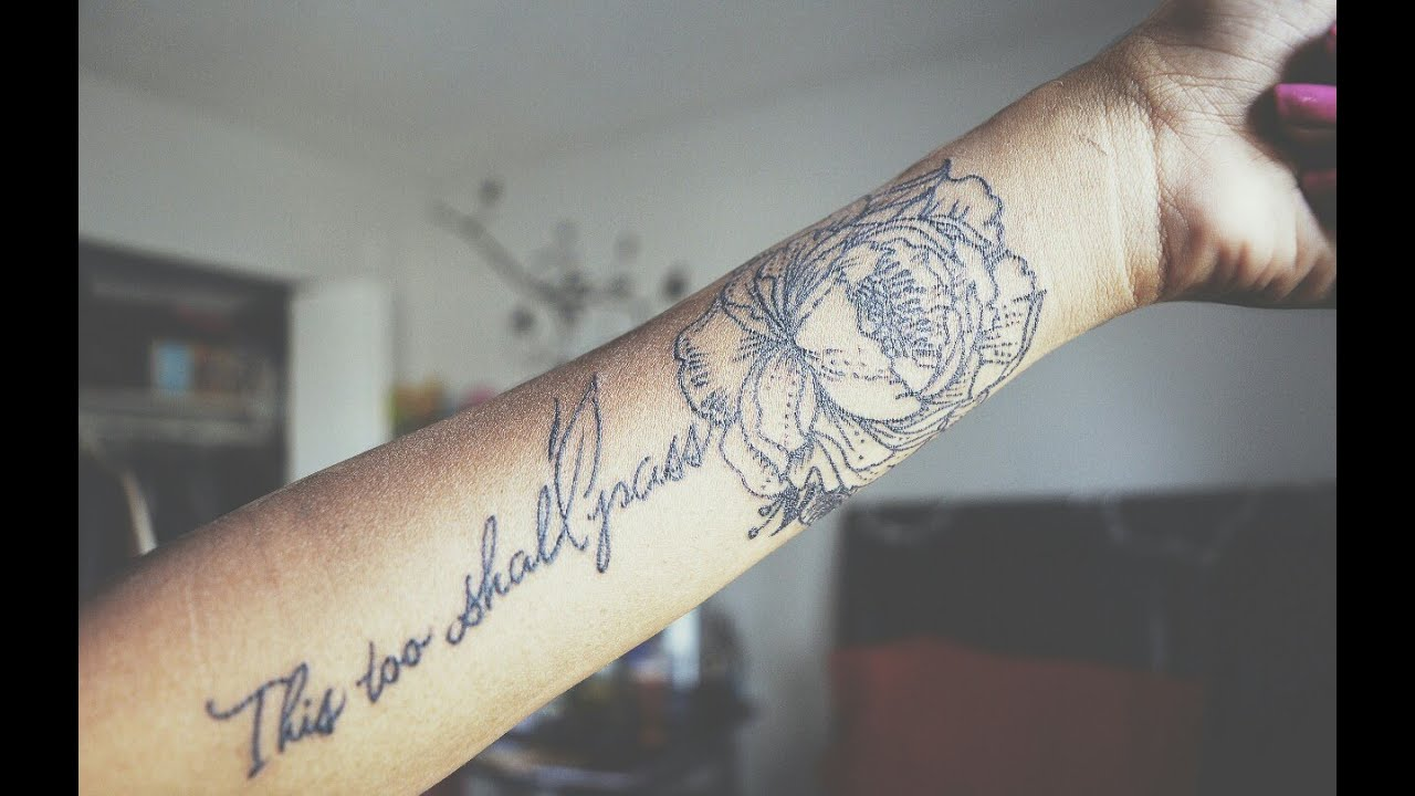 MY VERY FIRST TATTOO! :D (Meaning in the description ... - photo#26