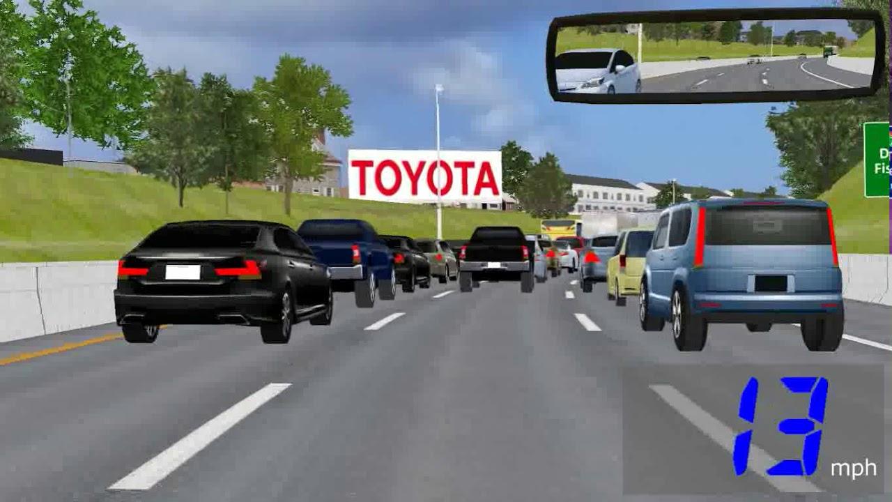ADAS Driving Simulation