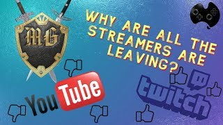 Why Is Everyone Leaving Youtube Streaming?