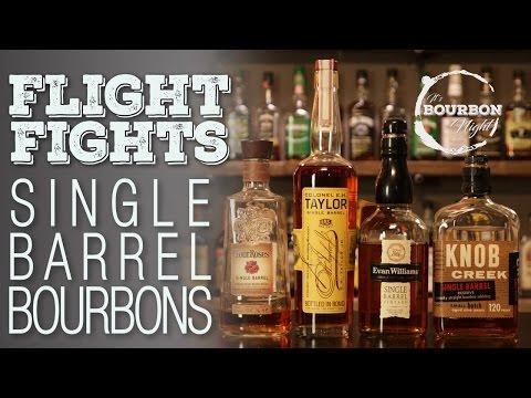 Single Barrel Bourbons Flight Fight! - It's Bourbon Night