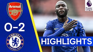 Arsenal 0-2 Chelsea   Lukaku is back with a bang! 🔥   H